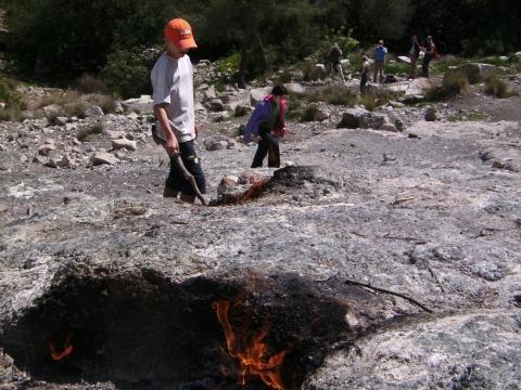 Brennende Steine  - (Europa, Griechenland, Geschichte)