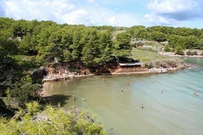 Strand Grebisce - (Strand, Kroatien, Dalmatien)
