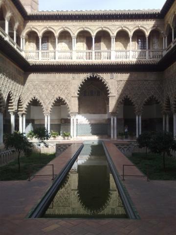 Alcàzar Sevilla - (Spanien, Rundreise, Architektur)