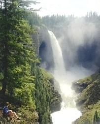 Helmken fall - (Kanada, Vancouver, British Columbia)