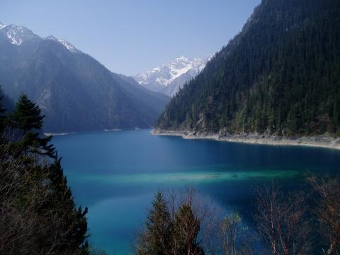 Jiuzhaigou NP Long Lake auf 3103 m - (China, Chengdu, Sichuan)