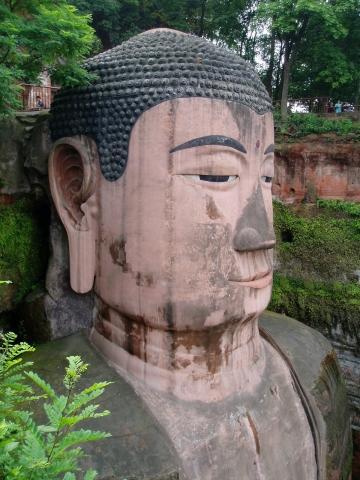 Big Buddha von Leshan - (China, Chengdu, Sichuan)