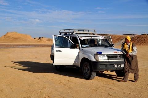 Wüste bei Tozeur - (Reise, Asien, Südamerika)