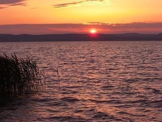 Abendstimmung am Balaton - (Urlaub, Preis, Pfingsten)