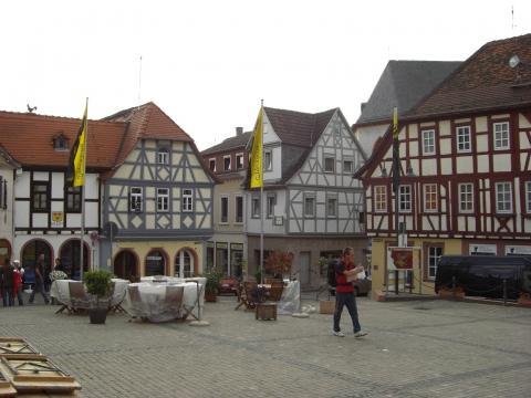 Oppenheim Marktplatz - (Deutschland, Reiseziel, Wandern)