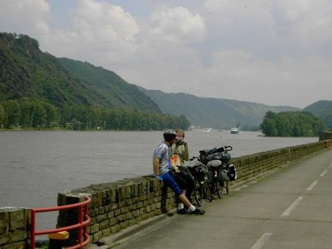Rheinradweg - (Deutschland, Fahrradtour, Loreley)