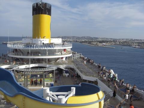 Deck Costa Fortuna - (Empfehlung, Kreuzfahrt, Kreuzfahrtschiff)