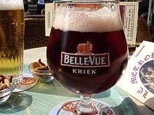 Ein Glas Kriek - (Belgien, Bier, Biersorte)