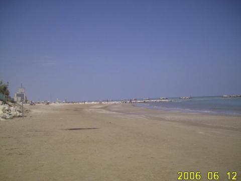 Rimini Strand - (Europa, Italien, Reiseziel)