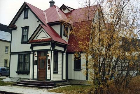 "Hotel ""Bombay Peggy's Inn"", Yukon, Kanada - (Amerika, Kanada, Ort)"