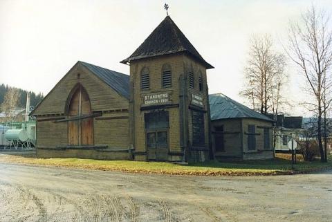 Dawson City, Yukon, Kanada - (Amerika, Kanada, Ort)