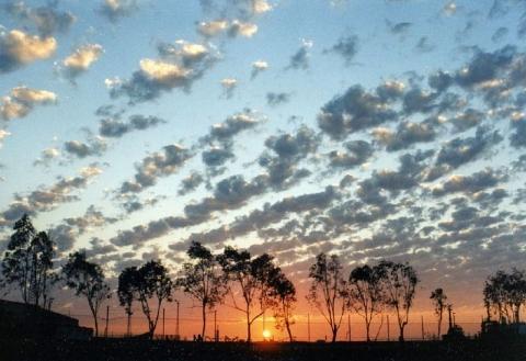 Sonnenuntergang, Westaustralien - (Sehenswürdigkeiten, Australien)