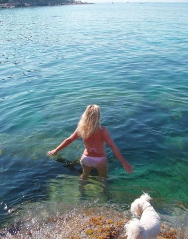 Wasser von Sant Andrea - (Italien, Schnorcheln, Obere Adria)