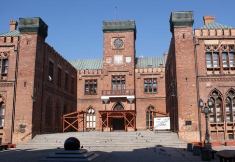 das Rathaus von Kolobrzeg - (Deutschland, Kultur, Polen)