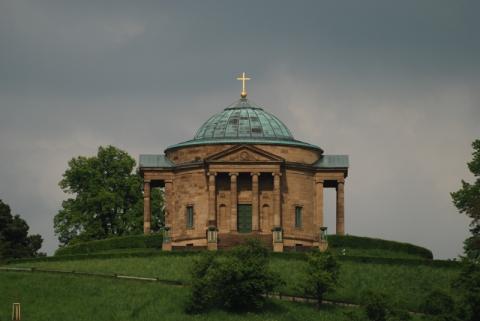 Grabkapelle auf dem Württemberg - (Deutschland, Stuttgart, Ausblick)