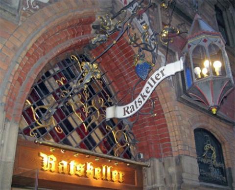 Ratskeller München - Ausgang - (Deutschland, Restaurant, München)