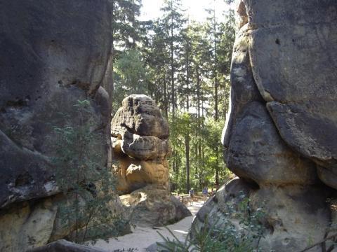 Sächsische Schweiz - (Deutschland, Camping, Nationalpark)