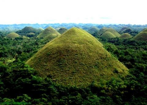 Chocolate hills, Bohol - (Asien, Philippinen, lohnenswert)
