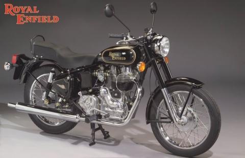 Royal Enfield Bullet 500 - (Asien, Indien, Motorradreisen)