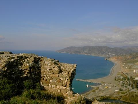 Strand von Gazipasa - (Europa, Türkei, Meer)