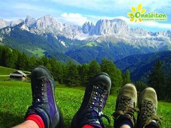 Steinegg Südtirol - (Italien, Dolomiten, Bergdorf)