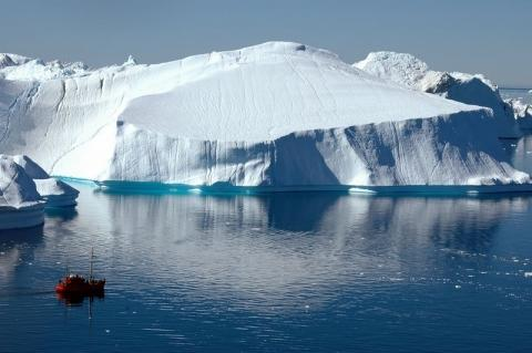 Der Ilulissat Eisfjord - (Skandinavien, Grönland, Eisfjord)