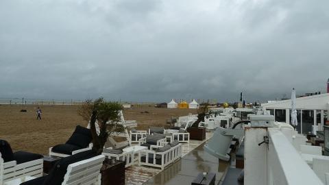 übersicht vom Strand - (Niederlande, Holland, Den Haag)
