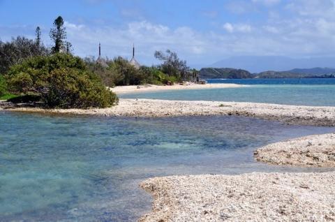 Inseln vor Nouméa, Neukaledonien - (Insel, Südsee, Nouma)
