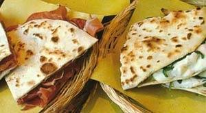 Piadina Romagnola aus Rimini - (Italien, Restaurant, Essen)