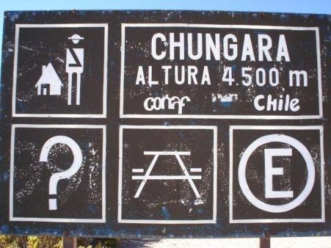 Nationalpark Chungará - (Südamerika, Chile, Bolivien)