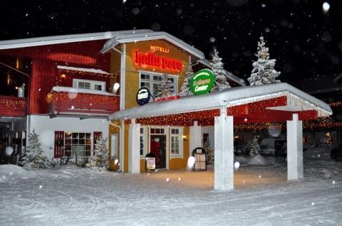 Levi / Nordfinnland - (Skandinavien, Finnland, Polarlichter)