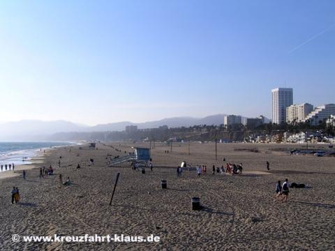 Santa Monica - (USA, Amerika, Strand)