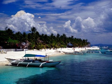 Bounty Beach, Malapascua - (Insel, Philippinen)