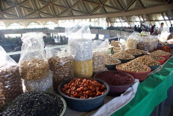 Chorsu Bazaar - (Sehenswürdigkeiten, Unterkunft, Usbekistan)