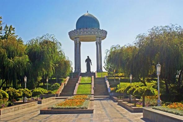 Alisher Navoiy Park  - (Sehenswürdigkeiten, Unterkunft, Usbekistan)