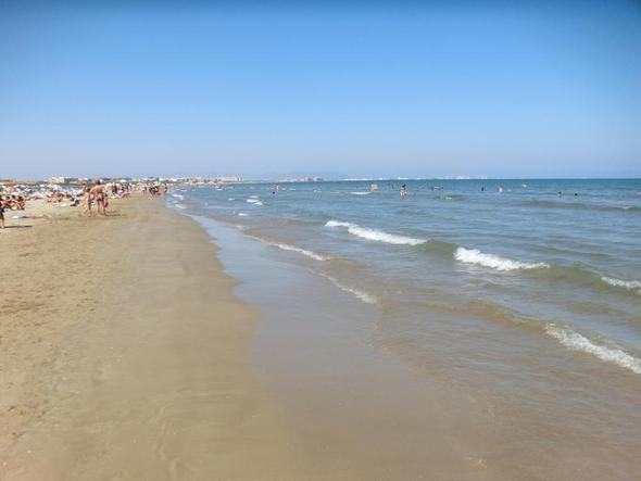 Valencia Strand - (Spanien, Urlaub, Strand)