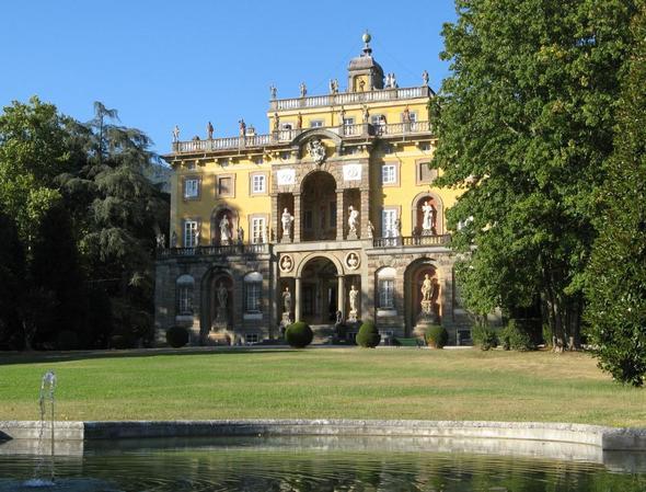 Villa Torrigiani nordöstlich von Lucca in der Toskana - (Italien, Toskana, Villa)