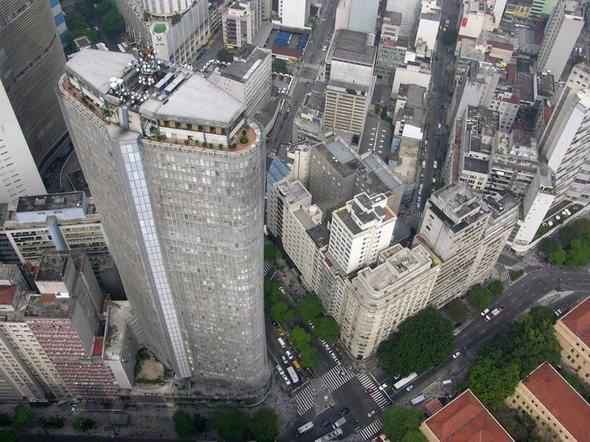 Tolle Aussicht auf Sao Paulo: Edificio Italia - (Sehenswürdigkeiten, Südamerika, Lateinamerika)