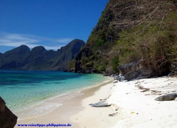 Strand in der Nähe von El Nido, Palawan - (Asien, Urlaub, Insel)