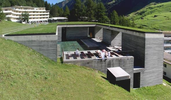 Therme Vals - (Europa, Schweiz, Entspannung)