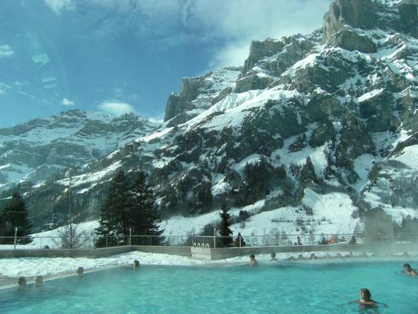 Alpentherme Leukerbad - (Europa, Schweiz, Entspannung)