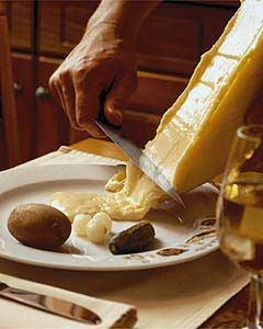 Walliser Raclette - (Europa, Schweiz, Spezialitäten)