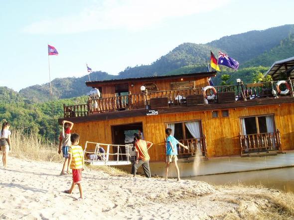 Landgang in Pak Benk - (Asien, Kambodscha, Laos)