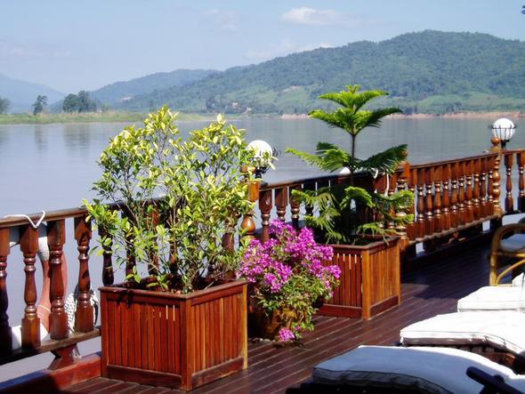 auf dem Sonnendeck - (Asien, Kambodscha, Laos)