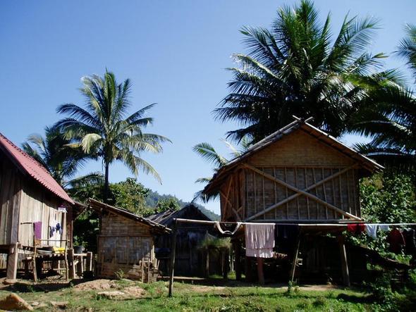 KhmuDorf Ban Don Mixay  - (Asien, Kambodscha, Laos)