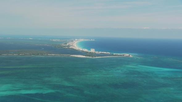 Strand bei Cancun - (Mexiko, Mittelamerika, Surfen)
