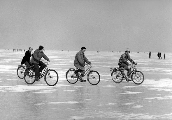 Seegfröni Bodensee (1962/63) - (Europa, Winter, Eis)