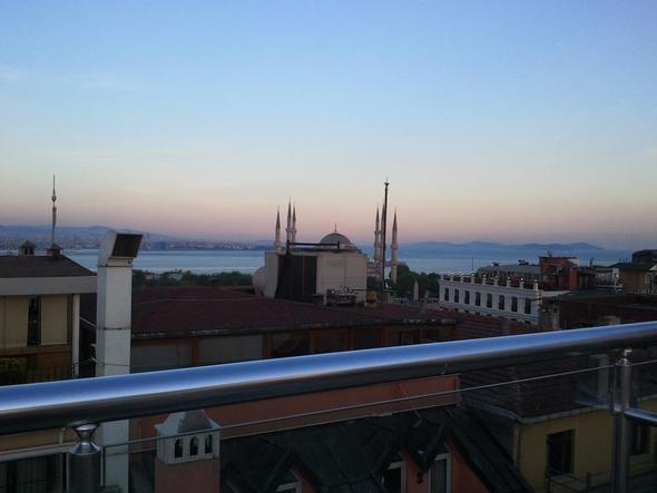 Ein kleiner Ausblick aus unserem Hotel - (Sehenswürdigkeiten, Türkei, Istanbul)