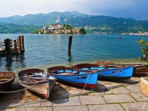 Lago d'Orta - (Italien, Wandern, Fruehjahr)