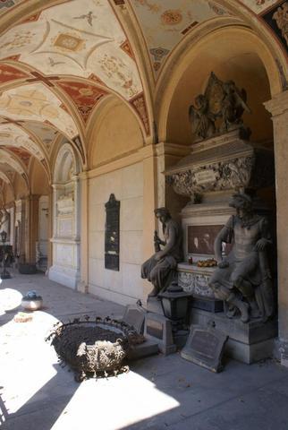 Friedhof Vysehrad  - (Europa, Reiseziel, weltweit)